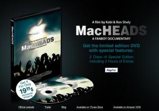Macheads DVD sales page
