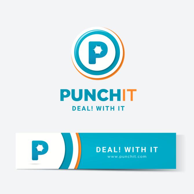 PunchIt Logo by Studio Graphoto